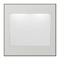 lichtgrau (lackiertes Aluminium)