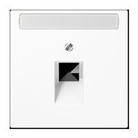 Abdeckung mit Schriftfeld für IAE/ UAE-Anschlussdose (1 x 8-pol.)