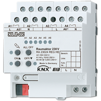Room actuator 110-230 V