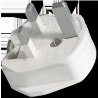 Plug for British Standard sockets