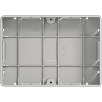 Flush-mounted recessed box for SC7
