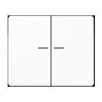 Wippe für Serienschalter und Doppeltaster, mit Lichtleiter
