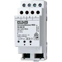 Dimmers for rail mounting