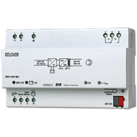 Uninterruptible KNX power supply 640 mA  with integrated choke
