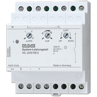 System control unit for rail mounting, 1-channel