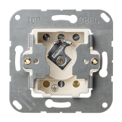 Jung Key Switch Insert With Protection Against Dismounting Ip 44