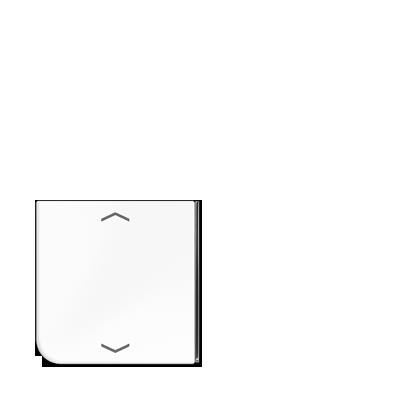 JUNG - Taste 4fach mit Symbolen △▽, für Taste 2 oder 3 Serie CD ...