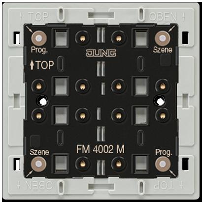 JUNG - eNet radio transmitter module 2-gang LS range Radio