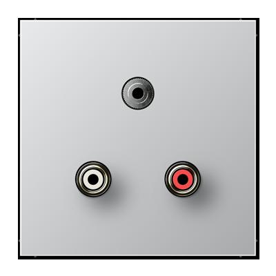 Jung cinch audio rca stereo jack trs 35 mm ls range ma al 1011 publicscrutiny Image collections