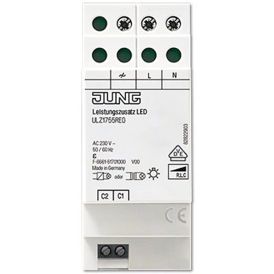 JUNG - Amplifier LED Dimmers for rail mounting LB Management OVERVIEW
