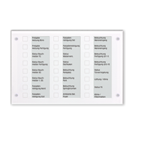 Информационно-управляющее табло системы