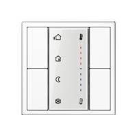 KNX комнатный контроллер, 2 группы
