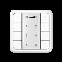 ZigBee настенный пульт управления, 4 группы