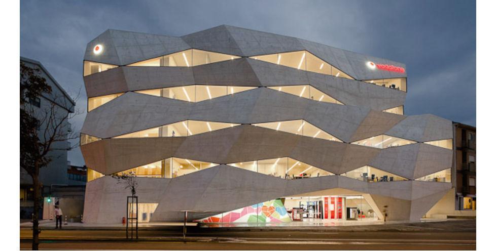 Perfect Vodafone Head Office, Porto, Portugal Amazing Design